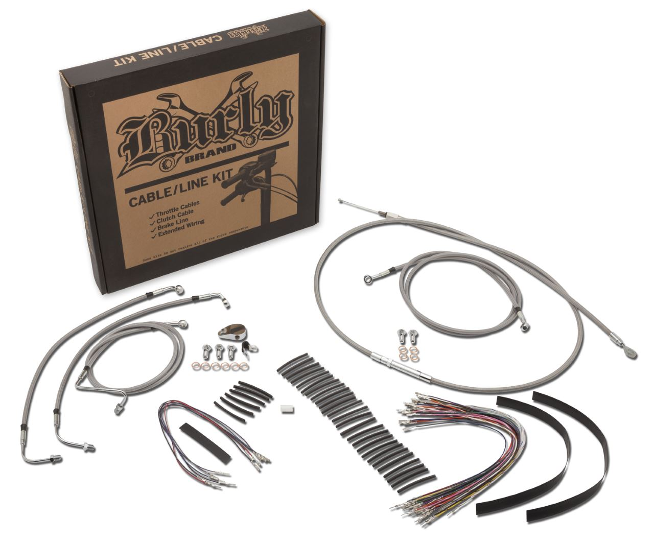 Braided Stainless Steel Cable Kits for Baggers | CABLE KITS | Burly