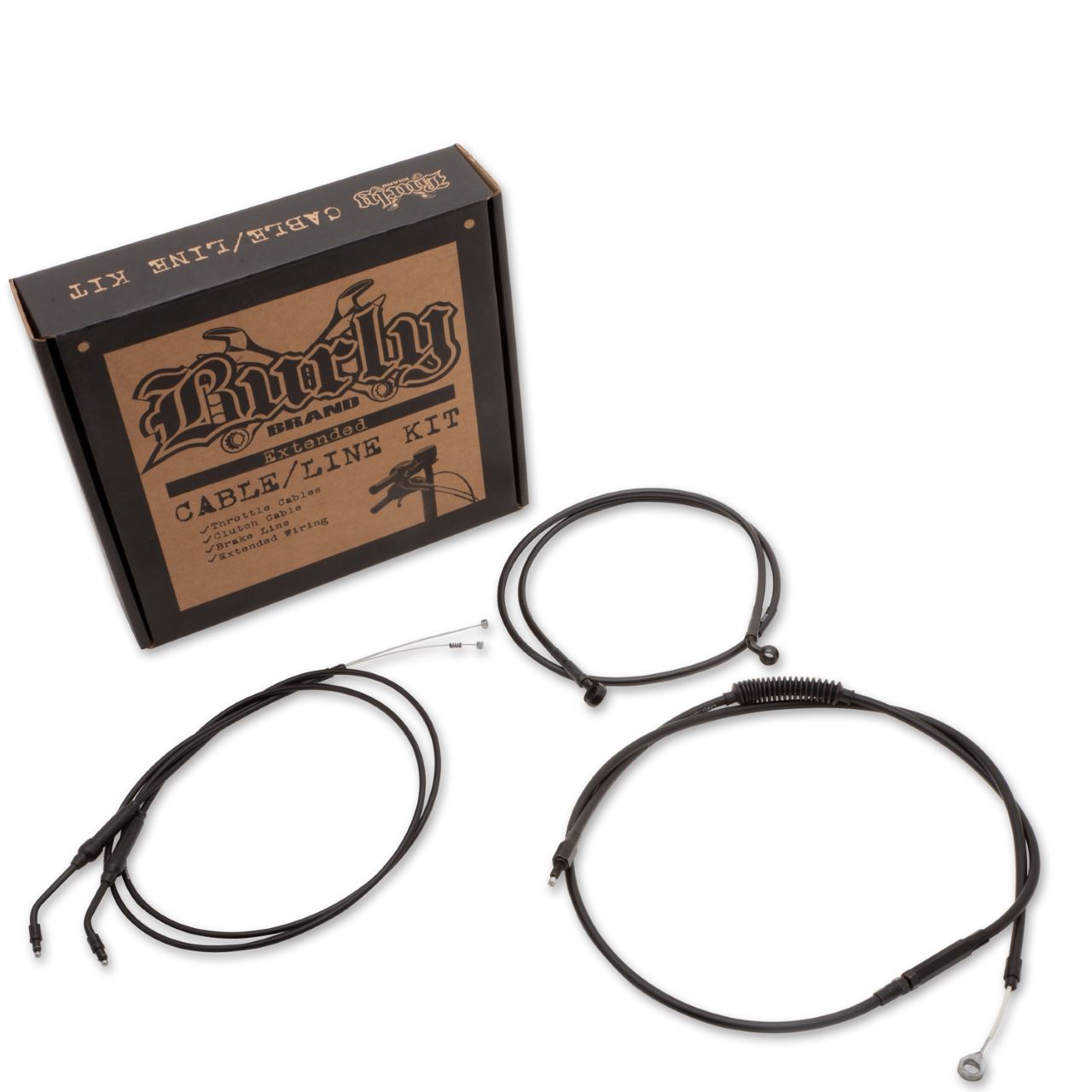 Cable Kits For Sportsters with Clubman Bars | CABLE KITS