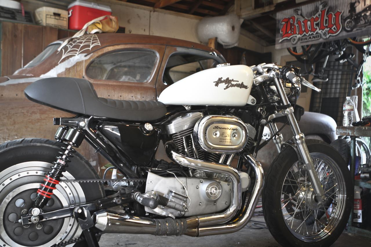 Cable Kits For Sportsters With Clubman Bars Cable Kits