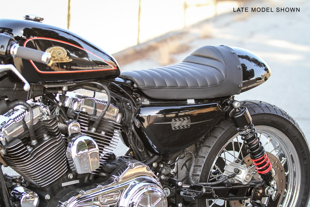 Cafe Tail Section for Sportsters | Cafe Sportster | Burly Brand