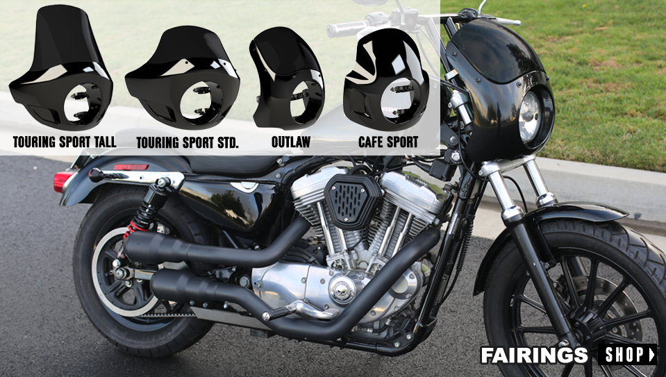 Fabuleux Shocks, Handlebars, Seats and Accessories for Harley Davidson  UR71